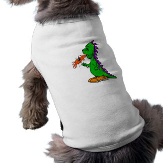 Dragón de la melcocha del campista ropa para mascota
