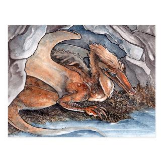 Dragón de la orilla tarjeta postal