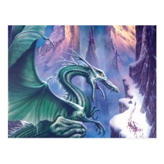 Dragón de la postal del norte