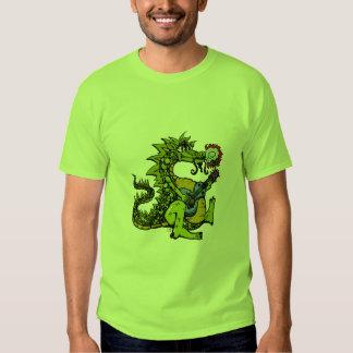 Dragón de las palmaditas polera