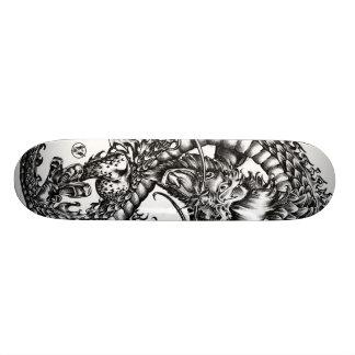 Dragón de las sesiones skateboard
