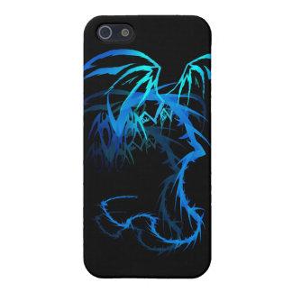 Dragón de Lectrik sombreado iPhone 5 Fundas