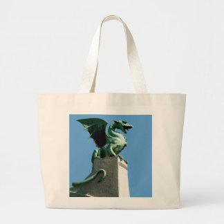 Dragón de Ljubljana Bolsas De Mano