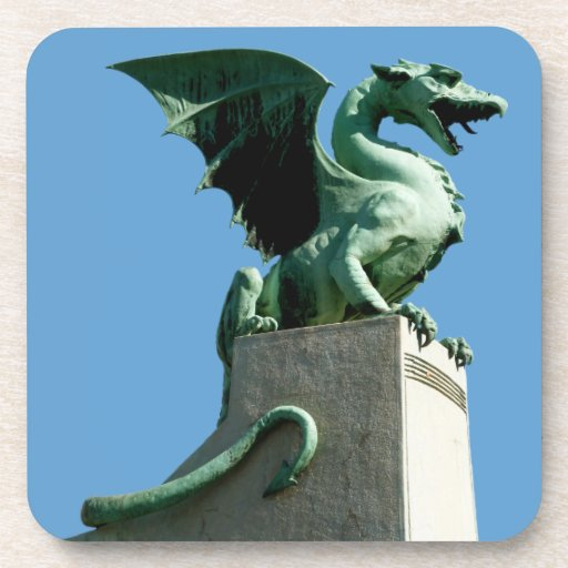 Dragón de Ljubljana Posavasos