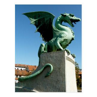 Dragón de Ljubljana Postal