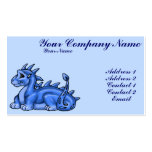 Dragón de los azules cielos plantillas de tarjetas personales