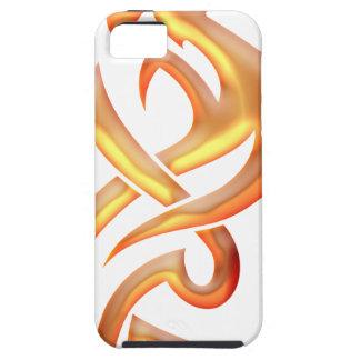 Dragón de oro iPhone 5 fundas