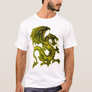 Dragón de oro playera