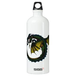Dragón de Ouroboros Botella De Agua