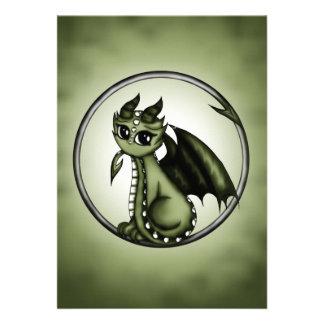 Dragón de Ouroboros Invitación