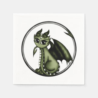 Dragón de Ouroboros Servilletas De Papel