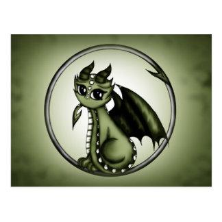 Dragón de Ouroboros Tarjetas Postales