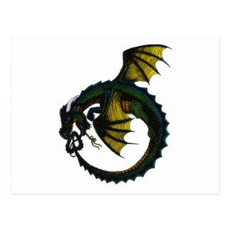 Dragón de Ouroboros Postales