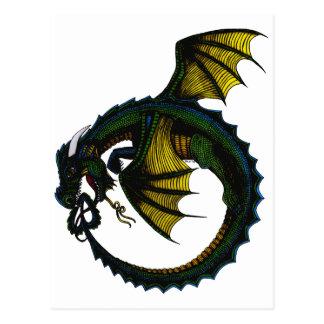 Dragón de Ouroboros Postal