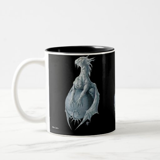 Dragón de Plutón Taza De Café
