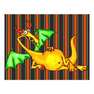 """Dragón de relajación folleto 8.5"""" x 11"""""""