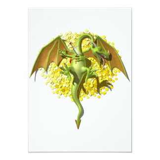 """Dragón de Slayed Invitación 5"""" X 7"""""""