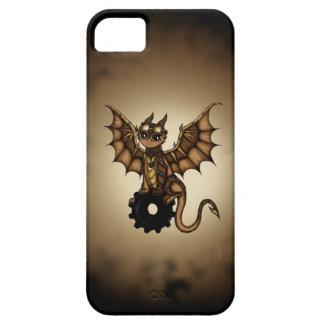 Dragón de Steampunk iPhone 5 Fundas