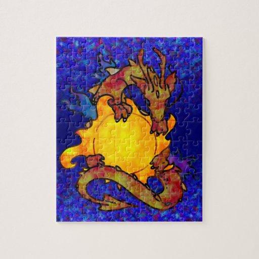 Dragón de Sun Rompecabeza