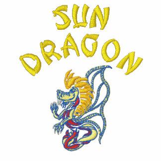 Dragón de Sun Sudadera Bordada Con Capucha