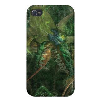 Dragón de Techi iPhone 4 Funda