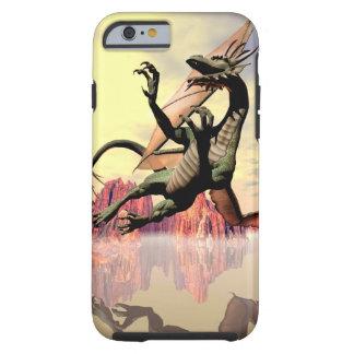 Dragón de vuelo funda de iPhone 6 tough