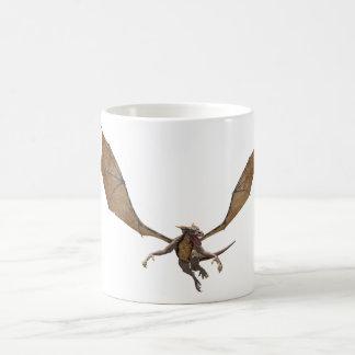 Dragón de vuelo taza básica blanca