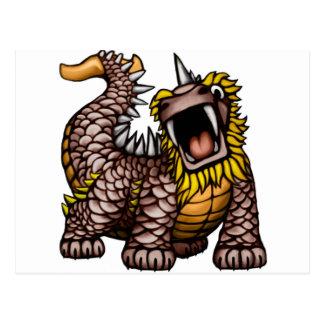 Dragón de Whalus Tarjeta Postal
