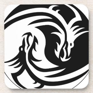 Dragón de Yin Yang Posavasos