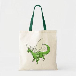 dragón del alboroto bolsa tela barata