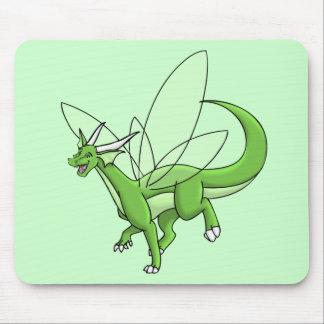 dragón del alboroto tapete de raton