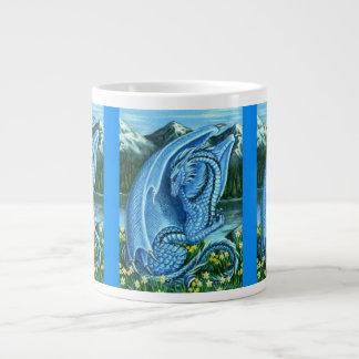 Dragón del Aquamarine Taza Grande