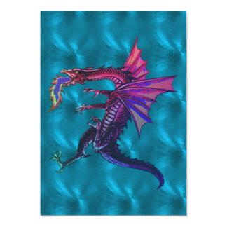 Dragón del arco iris invitación