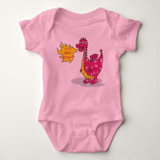 Dragón del bebé - chica playeras