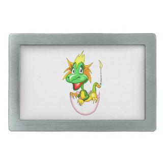 Dragón del bebé en el huevo graphic.png hebillas de cinturón rectangulares