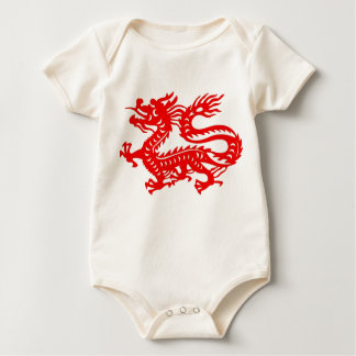 Dragón del bebé mamelucos de bebé