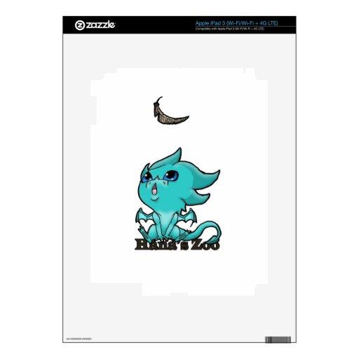 dragón del bebé pegatina skin para iPad 3