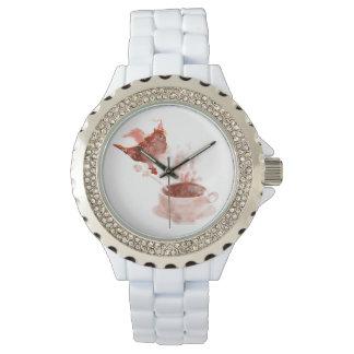 Dragón del café reloj de mano