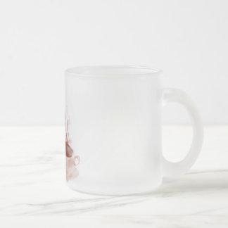 Dragón del café taza cristal mate