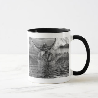 Dragón del chapoteo taza