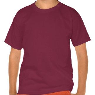 Dragón del chino del vintage camisetas