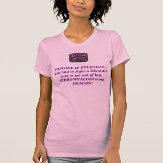 Dragón del Fibromyalgia Camiseta