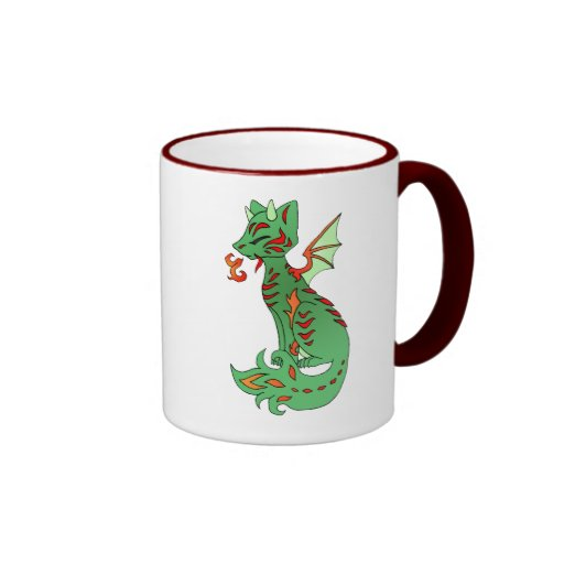 Dragón del Fox Taza De Café