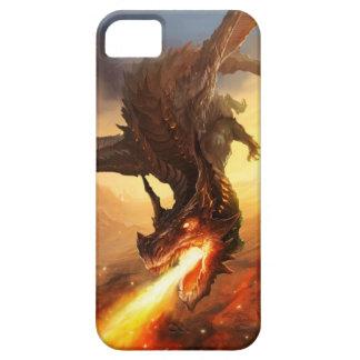 Dragón del fuego iPhone 5 coberturas