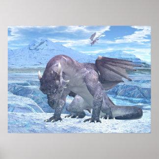 Dragón del hielo poster