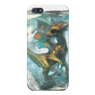 Dragón del hielo para iphone4 iPhone 5 carcasas