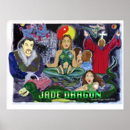 Dragón del jade posters