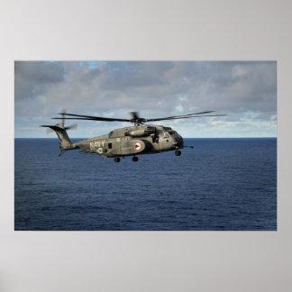 Dragón del mar de MH-53E Póster