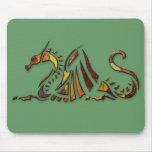 Dragón del moho tapete de ratón