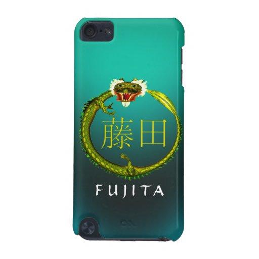 Dragón del monograma de Fujita Funda Para iPod Touch 5G
